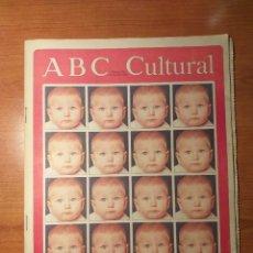 Coleccionismo de Los Domingos de ABC: ABC CULTURAL N°104 OCTUBRE 1993 UN MUNDO INFELIZ CLONACIÓN, OCTAVIO PAZ. Lote 289623323