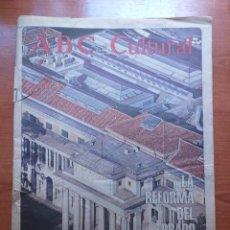 Coleccionismo de Los Domingos de ABC: ABC CULTURAL N°93 AGOSTO 1993 LA REFORMA DEL PRADO, EN EL AIRE. PISSARRO, TAZIEFF, GAYA. Lote 289693608