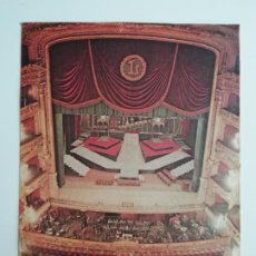 Coleccionismo de Los Domingos de ABC: REPORTAJE EL GRAN TEATRO DEL LICEO LOS DOMINGOS DE ABC GRANDES REPORTAJES EN COLOR ÓPERA. Lote 289757668