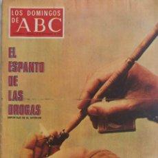 Coleccionismo de Los Domingos de ABC: LOS DOMINGOS DE ABC. B20 SEPT. 1970. LAS DROGAS. LUCERO TENA. REVISTA. Lote 289773628