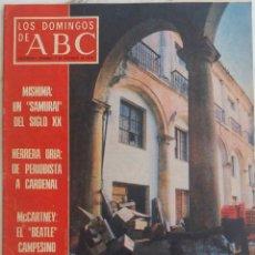 Coleccionismo de Los Domingos de ABC: LOS DOMINGOS DE ABC. 3 DICIEMBRE 1978. MISHIMA. PAUL MCCARTNEY CAMPESINO. HERRERA ORIA.REVISTA. Lote 289773718