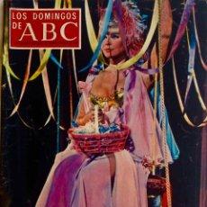 Coleccionismo de Los Domingos de ABC: LOS DOMINGOS DE ABC.14 SEPT. 1969. ELKE SOMMER.VICENTE ZABALA.MODA.LOLA FALANA.R.SOCIEDAD.REVISTA. Lote 289773973