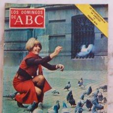 Coleccionismo de Los Domingos de ABC: LOS DOMINGOS DE ABC. 7 FEBRERO 1971.LAURA VALENZUELA. LOS FAQUIRES. REVISTA. Lote 289785418