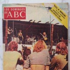 Coleccionismo de Los Domingos de ABC: LOS DOMINGOS DE ABC.9 JULIO 1972.LA GRAN FIESTA POP.SANCHEZ-ALBORNOZ.LA NUEVA PAULOVA. REVISTA. Lote 289786358
