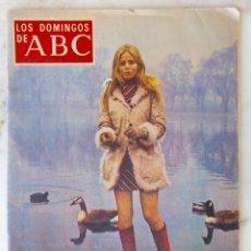 Coleccionismo de Los Domingos de ABC: LOS DOMINGOS DE ABC. 6 ENER 1974. BRITT EKLAND. RAFAEL CANOGAR.JUAN VAN HALEN.MªJOSE PRENDES.REVISTA. Lote 289804208