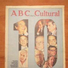 Coleccionismo de Los Domingos de ABC: ABC CULTURAL N°113 DICIEMBRE 1993 LOS MEJORES (LIBROS) DEL 93 CELA VARGAS LLOSA MARSÉ OCTAVIO PAZ. Lote 293293433