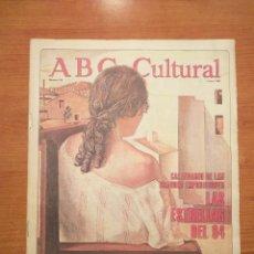 Coleccionismo de Los Domingos de ABC: ABC CULTURAL N°114 ENERO 94 CALENDARIO DE EXPOSICIONES LITERATURA SECUESTRADA POR EL KGB. Lote 293296453