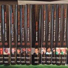 Coleccionismo de Los Domingos de ABC: BIOGRAFIAS VIVAS ABC. Lote 293973108