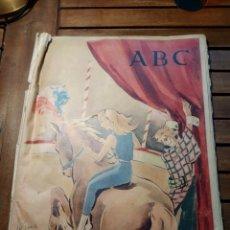 Coleccionismo de Los Domingos de ABC: ABC. 5 ABRIL 1959. TORCUATO LUCA DE TENA. LORENZO GOÑI. BERLÍN GUERRA FRÍA PUBLICIDAD CLUB MOROCCO. Lote 295439118