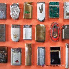 Mecheros: COLECCION 18 MECHEROS. Lote 26929534