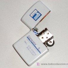 Mecheros: MECHERO GASOLINA CON PUBLICIDAD. Lote 22764582