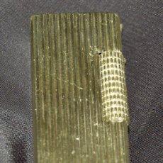 Mecheros: MECHERO ENCENDEDOR FLAXY METAL DORADO 6,5 X 2 CM. Lote 26796607