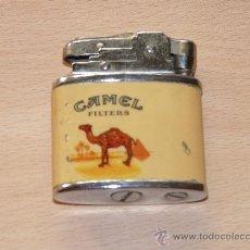 Mecheros: ANTIGUO MECHERO GASOLINA PUBLICIDAD CAMEL. Lote 25845817