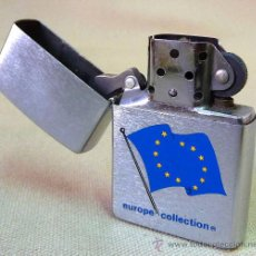 Mecheros: MECHERO ZIPPO, ORIGINAL, EUROPE COLLECTION, BRADFORD, USA. Lote 27772781