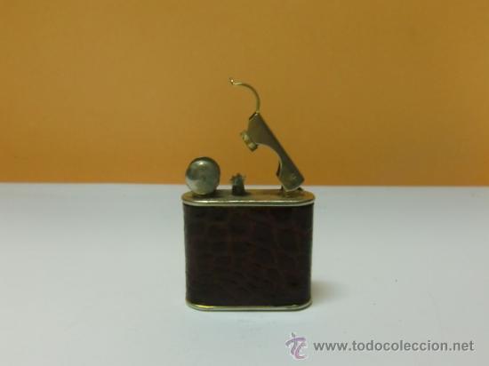 Mecheros: Mechero gasolina piel de cocodrilo - Foto 2 - 32025199