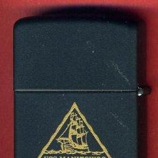 Mecheros: MECHERO ENCENDEDOR ZIPPO , BRADFORD , USS MANITOWOC LST 1180 , ORIGINAL, Z7. Lote 33350028