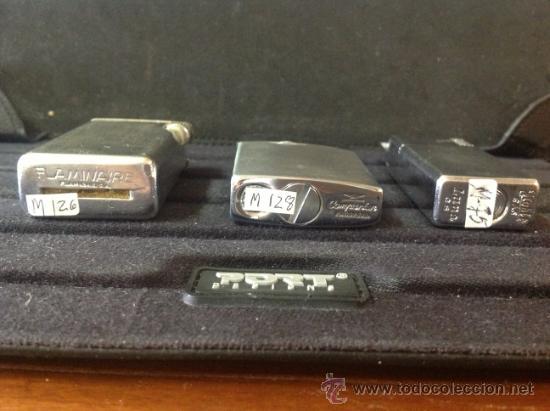 Mecheros: Lote de tres mecheros - encendedores de colección. Bien conservados, ver fotos. - Foto 4 - 39216868
