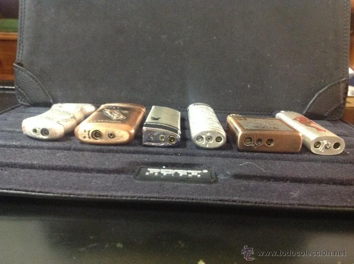 Mecheros: 6 mecheros - encendedores de colección. - Foto 3 - 235858795