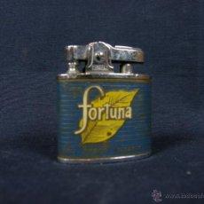 Isqueiros: MECHERO FIREFLY PUBLICITARIO FUME FORTUNA C.A VENEZOLANA DE TABACO Y.N.S AÑOS 40-50. Lote 40425762