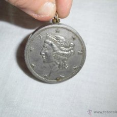 Mecheros: ANTIGUO MECHERO MONEDA WINDSOR JAPAN. Lote 41287020