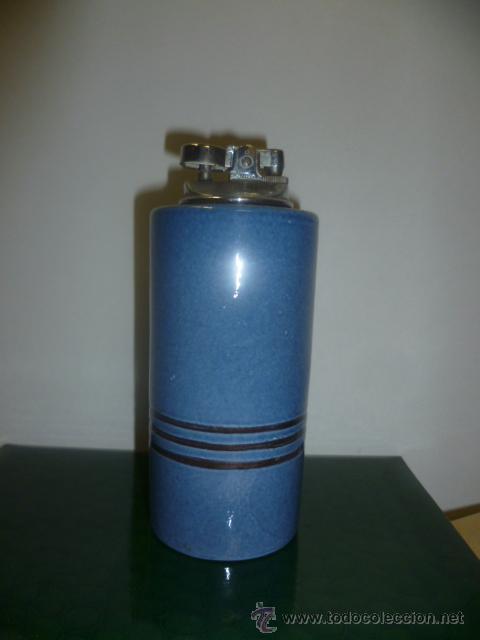 MECHERO DE MESA DE CERÁMICA (Coleccionismo - Objetos para Fumar - Mecheros)