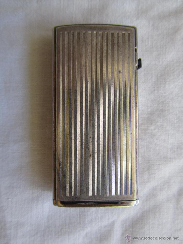 Mecheros: Mechero Ronson laminado en plata, electrónico - Foto 2 - 42698849