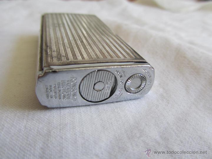 Mecheros: Mechero Ronson laminado en plata, electrónico - Foto 4 - 42698849