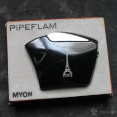 Mecheros: PIPEFLAM ENCENDEDOR, CREATION MYON, PARIS CON CAJA TORRE EIFEL. Lote 44832405