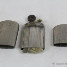 Mecheros: ANTIGUO MECHERO DE GASOLINA EN METAL PLATEADO. Lote 44865601