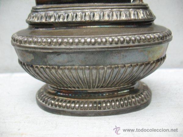 Mecheros: Ronson - Antiguo mechero en plata de gasolina de los años 40 - Foto 3 - 44944786