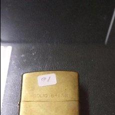 Isqueiros: MECHERO / ENCENDEDOR ZIPPO 1932 - 1991 GRABADO -FELICIDADES -. Lote 159793606