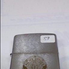 Mecheros: MECHERO / ENCENDEDOR ZIPPO L-V AÑO 89 -POLICE OFFICE- LOS ANGELES POLICE 911. Lote 169167026