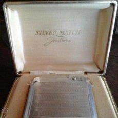 Mecheros: MECHERO DE PLATA SILVER MACHT. Lote 54855989