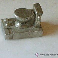 Mecheros: MECHERO DE GAS WATER DE METAL ANTIGUO. Lote 180426047