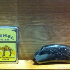 Mecheros: 2 MECHEROS CAMEL Y FUNDA MECHERO. Lote 56317246