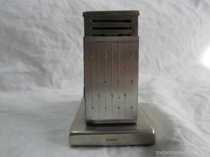 Mecheros: Mechero alemán de sobremesa Augusta Patent Carroza victoriana - Foto 6 - 142595269
