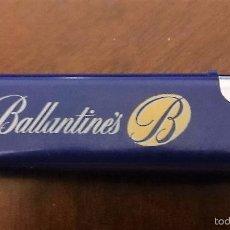 Mecheros: MECHERO BALLANTINES SIN GAS, RECARGABLE.. Lote 58193268