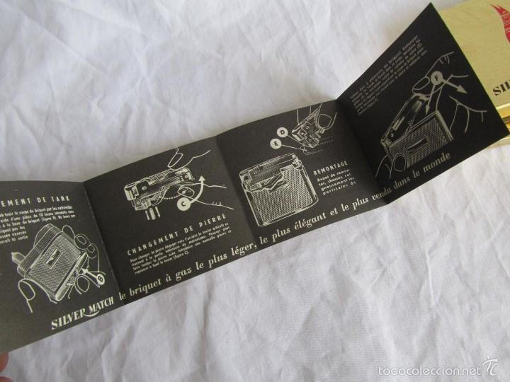 Mecheros: Encendedor mechero Silver Match caja original - Foto 2 - 58581819