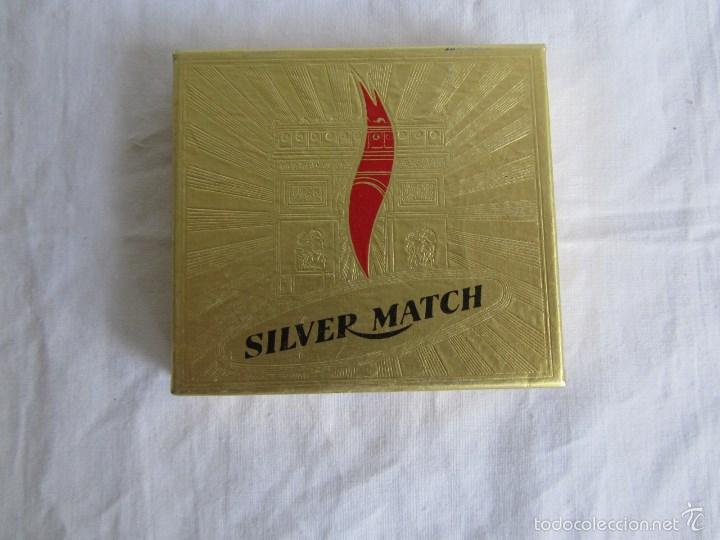 Mecheros: Encendedor mechero Silver Match caja original - Foto 4 - 58581819