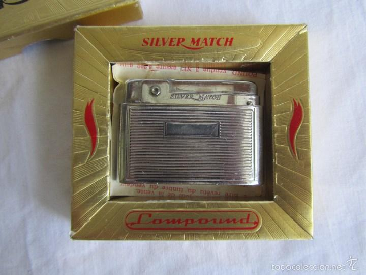 Mecheros: Encendedor mechero Silver Match caja original - Foto 6 - 58581819