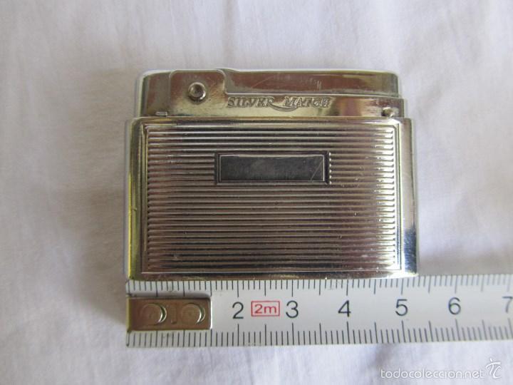 Mecheros: Encendedor mechero Silver Match caja original - Foto 8 - 58581819