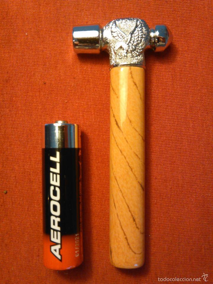 Mecheros: Mechero con forma de Martillo en miniatura. Encendedor Herramienta Bricolaje. Funciona. - Foto 3 - 58640746