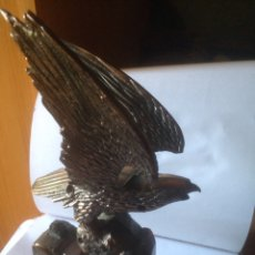 Mecheros: AGUILA EN BRONCE MECHERO. Lote 58921828