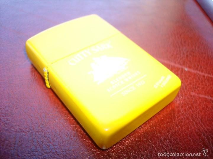 Mecheros: MECHERO TIPO ZIPPO CUTTY SHARK AMARILLO - Foto 2 - 60188159