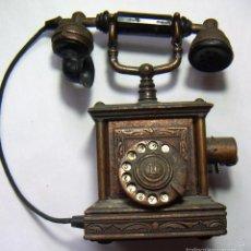 Mecheros: VIEJO MECHERO TELÉFONO TAMAÑO MUY GRANDE. Lote 61301103