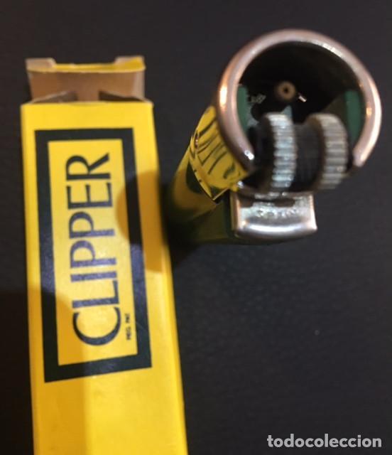 Mecheros: antiguo mechero años 70 clipper regulable verde nuevo a estrenar - Foto 3 - 66091650