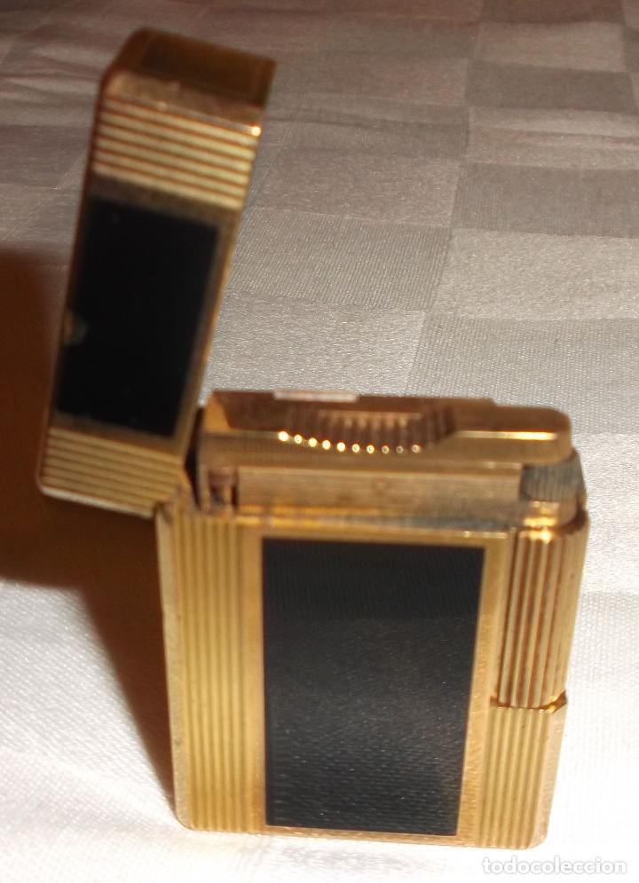 Mecheros: mechero de oro y laca china - Foto 2 - 68268793