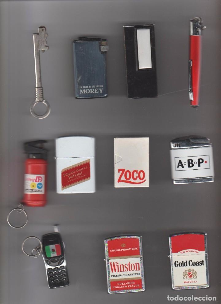 SUPER LOTE DE MECHEROS (Coleccionismo - Objetos para Fumar - Mecheros)