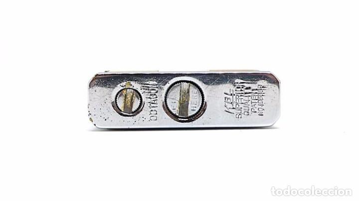 Mecheros: Mechero de gasolina metal cromado y forrado de nácar KBL OCTAGON - Foto 3 - 82796924