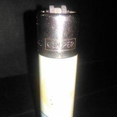 Mecheros: CLIIPPER RASC RED RECARGABLE PUNTO NEGRO. Lote 83038596